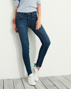 BRAND NEW  Hollister Super Skinny Mid Rise Jeans Size 5