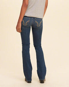 NEW   HOLLISTER  jeans - boot cut style