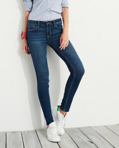 BRAND NEW Hollister Mid Rise Super Skinny Jeans Size 5