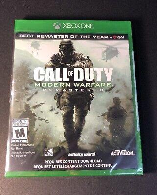 Call of Duty Modern Warfare [ Remastered ] (XBOX ONE)