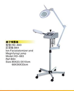 salon electronics - facial steamers, hood dryers, lamps and more