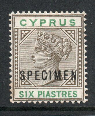 CYPRUS 1894 6p *** SPECIMEN ***