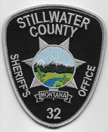 Stillwater County Sheriff State Montana MT patch