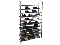 10 Tier Shoe Rack for 50 Pair of Shoes