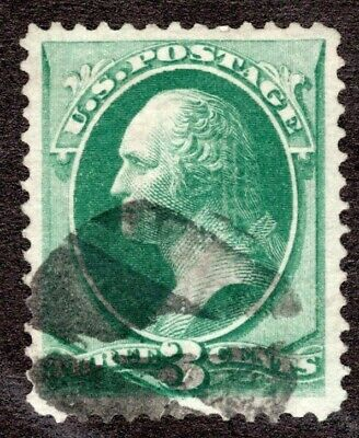 US Scott #136  Used  VF.  SCV $32.50