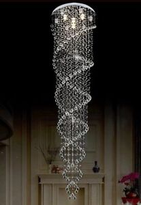 Modern Crystal Chandelier Raindrop Style Brand NEW