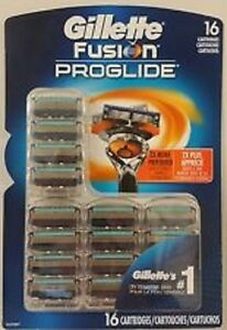 Gillette Fusion Proglide Blades 16 Cartridges 1 Pack Sealed - New