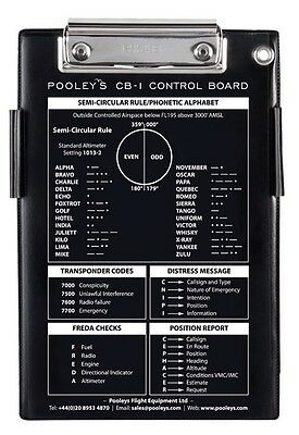 Pooleys CB-1 Pilots Kneeboard *Best Value*
