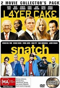 Layer Cake And Snatch Double Pack DVD Daniel Craig