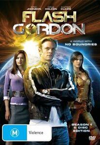 Flash Gordon : Season 1 (DVD, 2008, 6-Disc Set) *New & Sealed* Region 4