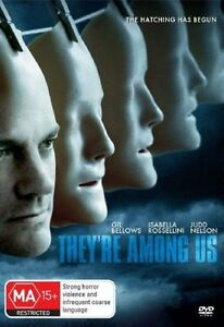 They-039-re-Among-Us-DVD-Brand-New-Sealed-Judd-Nelson-Isabella-Rossellini