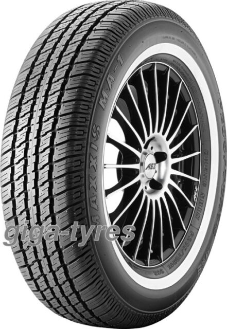 4x SUMMER TYRE Maxxis MA 1 205/75 R15 97S M+S