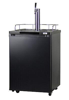 Kegco Homebrew Kegerator Single Faucet Ball Lock Keg Dispenser Black