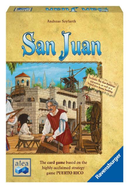 San Juan Card Game Second Edition - NEW