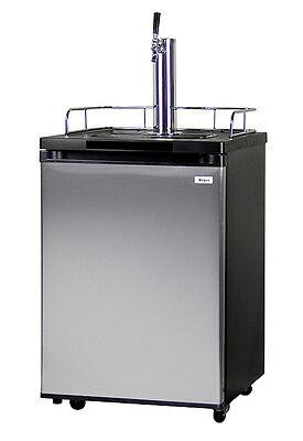 Kegerator Full Size Keg Beer Cooler Refrigerator - Single Faucet - D System
