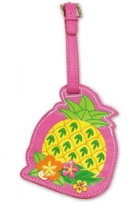 Theme Luggage Tag (Pineapple Theme Luggage / ID Tag -)