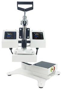 "5 x 5"" Rosin Press Dual Heating Elements High Pressure heavy Duty"