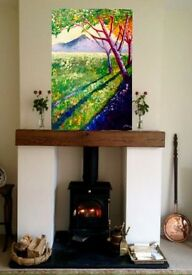 "Original painting ""Sunlight in the Mournes """