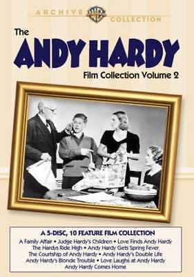 Andy Hardy Film Collection, Volume 2 (5-Disc) NEW DVD