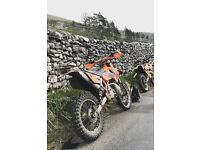 2003 KTM EXC 200 Road Reg Legal V5 Greenlaning