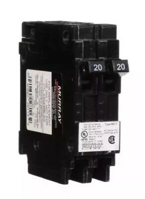 Murray Crouse-hinds Mp2020n Circuit Breaker 20a 2 1pole New