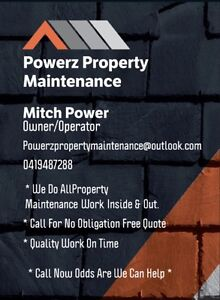 POWERZ PROPERTY MAINTENANCE Holmview Logan Area Preview