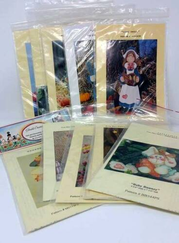 BUY 3 Get 1 FREE SALE Gould  Decorative Painting Tole Pattern Instruction Packet