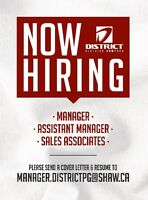 Full Time Assistant Manager