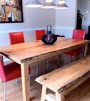 Live Edge Slab Wood Tables, Coffee Tables, Console tables