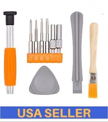 Complete Tool Kit for opening Nintendo Switch Wii Wii U DS - Triwing 3.5mm 4.5mm