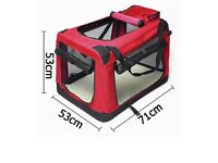 Brand new Fabric soft pet crate kennel carrier house
