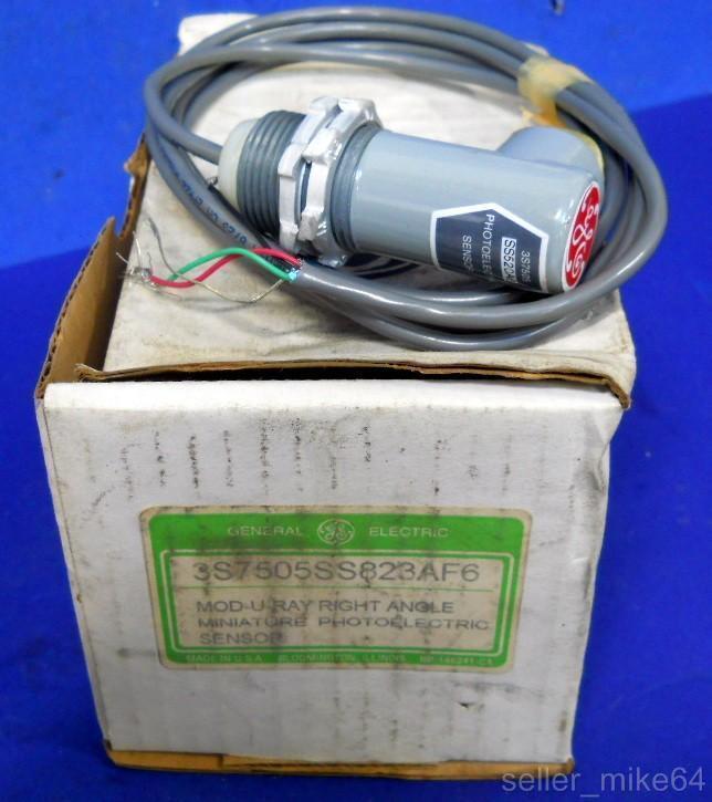 GENERAL ELECTRIC GE 3S7505, MOD-U-RAY PHOTOELECTRIC SENSOR, 6