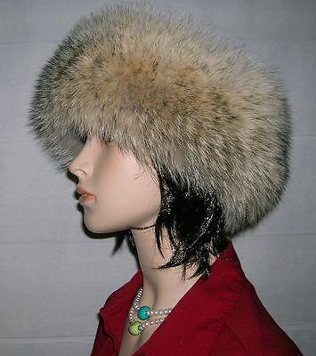 Coyote Fur Headband (NEW COYOTE FUR HEADBAND NECK WRAP SCARF )