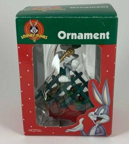 Warner Bros. Looney Tunes Bugs Bunny Wine Carrot Rack Christmas Ornament