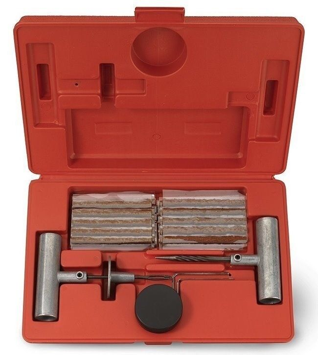 35 Pices Professional Tire Repair Kit, Fix A Flat Tire Plug Tubeless Punctured