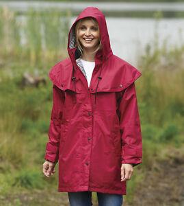 femmes comt propri t imperm able manteau cape veste pluie d contract marche ebay. Black Bedroom Furniture Sets. Home Design Ideas