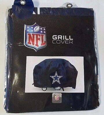 Dallas Cowboys Economy Team Logo BBQ Gas Propane Grill Cover - (Dallas Cowboys Grill Cover)