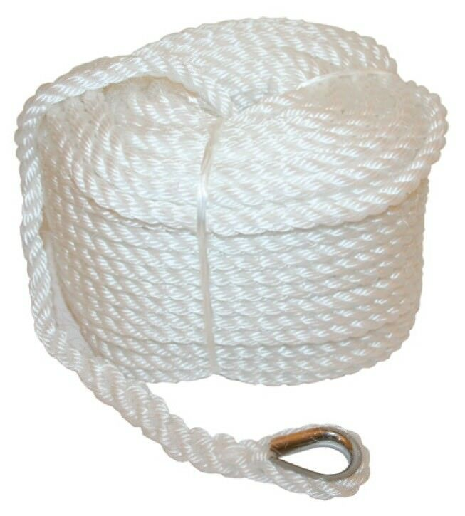 Home Improvement Confident 100mtrs X 12mm Pe Silver Rope