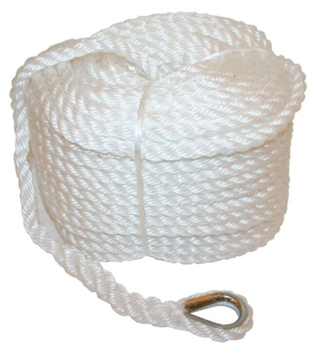 Parts & Accessories Other Home Building & Hardware Confident 100mtrs X 12mm Pe Silver Rope