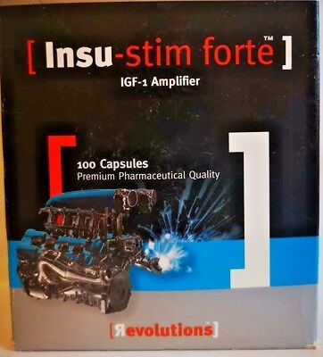 Revolutions Insu-stim forte Insulin like Growth Factor IGF-1 Cissus -