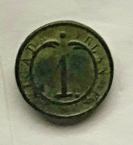 Napoleon's Irish Legion French Light Infantry Button