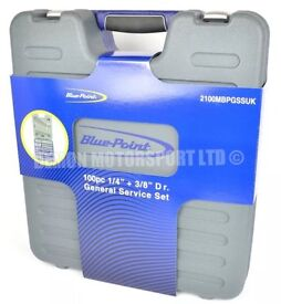 Bluepoint brand New 100pc socket set