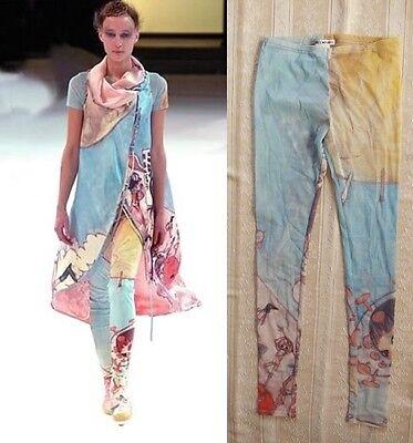 """ISSEY MIYAKE x AYA TAKANO (Kaikai Kiki Artist) """"EARTH"""" DESIGN Mesh Leggings Pant"""