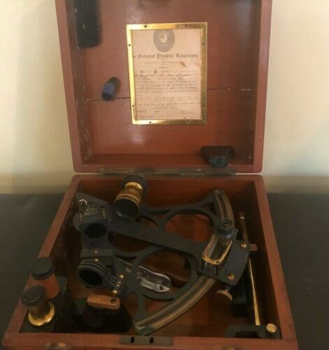 1920 H. Hughes & Sons Sextant #10621