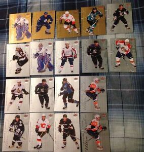 18 08-09 Fleer Ultra Rookie Cards - 14 Silver - 4 Gold