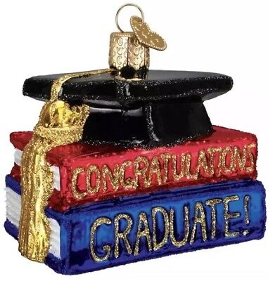 Congrats Graduate (36091) Old World Christmas Ornament