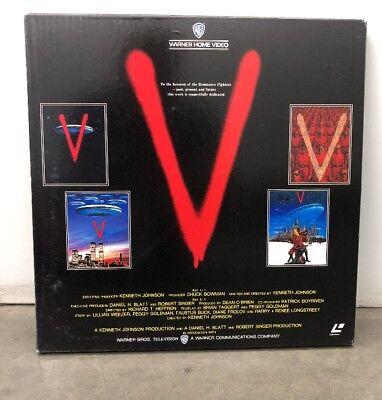 V (TV Mini-Series 1983– ) LaserDisc Box [NJL-11443] (EX+)