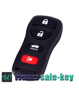 New 4btn Replacement Keyless Entry Remote Car Fob Clicker Beeper for Nissan