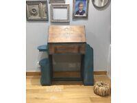 Vintage hand painted bureau