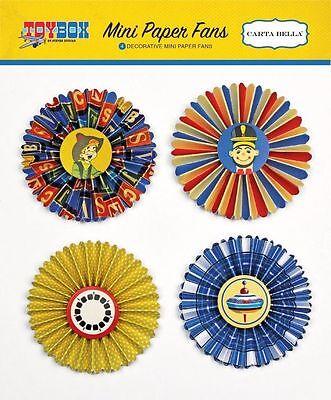 Mini Paper Fans (CARTA BELLA